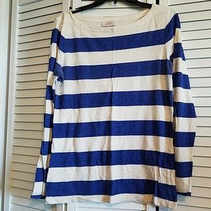 LOFT Tops - 🍁Fall Staple🍁Loft Boat Neck Long Sleeve Shirt